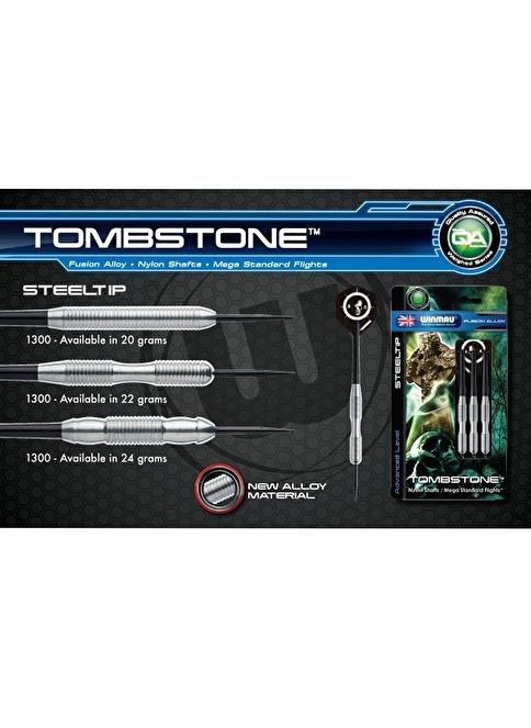 Winmau Tombstone Fusion Alloy Çelik Uçlu Dart-20 Gram Renkli